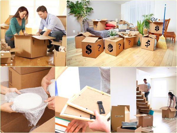 Cách đóng gói đồ đạc chuyển nhà?