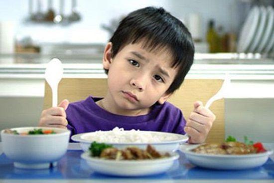 Quan tâm chế độ ăn uống của trẻ