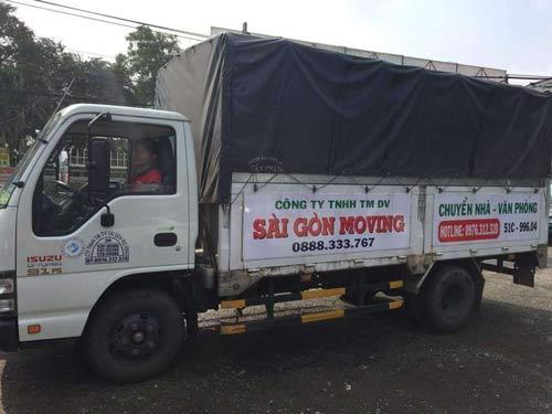 Sài Gòn Moving thuê xe tải chở hàng tp Hồ Chí Minh uy tín